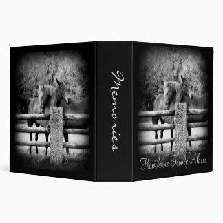 Heirloom Horses Hugging Ranch Family Photo Album Binder