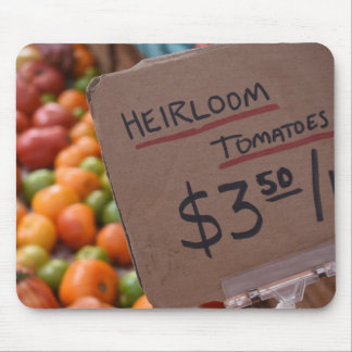 Heirloom Tomatoes Greenmarket Farmer's Market NYC Mouse Pad