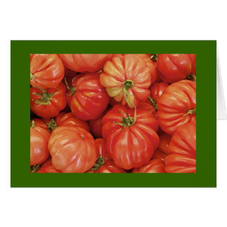 Heirloom Tomatoes in Manhattan Card