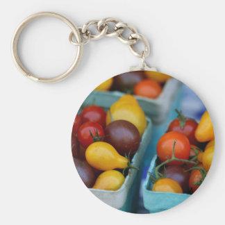 Heirloom Tomatoes Keychain