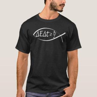 Heisenberg Uncertainty Jesus Fish T-Shirt