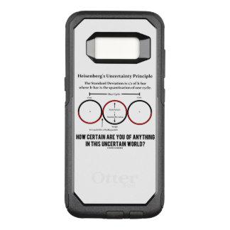 Heisenberg's Uncertainty Principle Physics Humor OtterBox Commuter Samsung Galaxy S8 Case