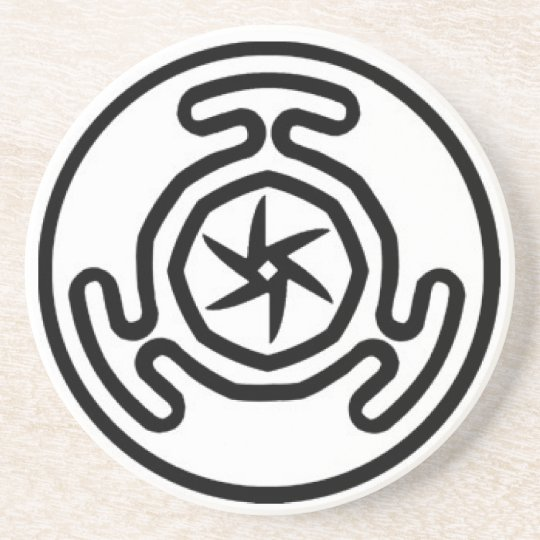 Hekate's Wheel Offering Disc Coaster