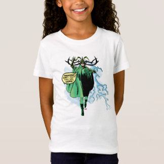 Hela Attacking Thor T-Shirt