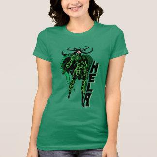 Hela Character Typography Art T-Shirt