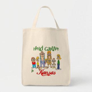 Held Captive in Kansas Grocery Tote Bag