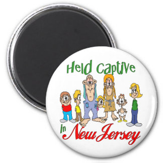 Held Captive in New Jersey Magnet