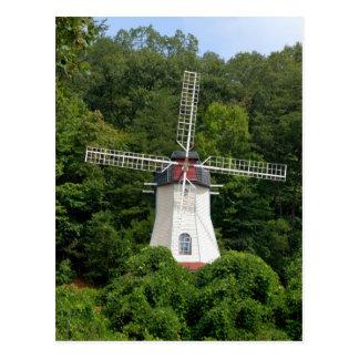 helen georgia windmill postcard
