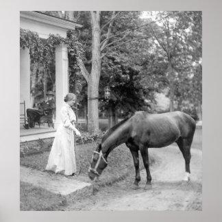 Helen Keller, 1907 Poster