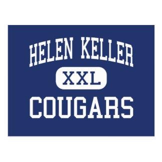 Helen Keller Cougars Middle Easton Postcard