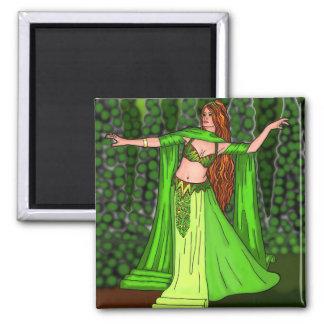 Helena Belly Dancer Magnet