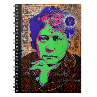 Helena Blavatsky Theosophy Occult Esoteric New Age Notebook