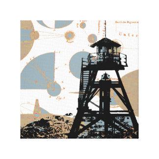 Helena Fire Tower Canvas Print