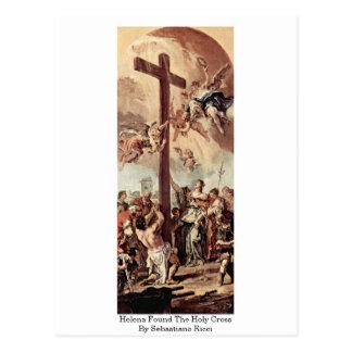 Helena Found The Holy Cross By Sebastiano Ricci Postcard