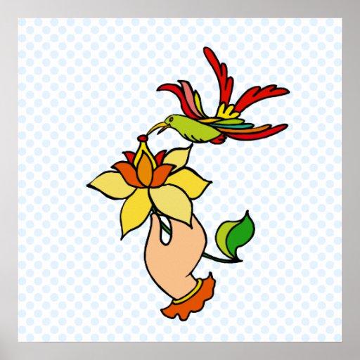 Helena Hummingbird Print