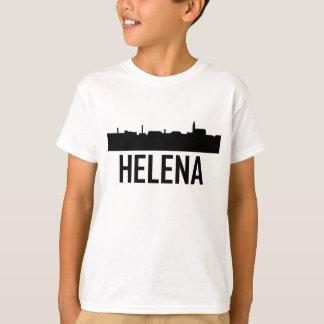 Helena Montana City Skyline T-Shirt