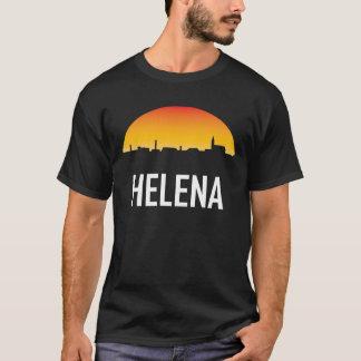 Helena Montana Sunset Skyline T-Shirt