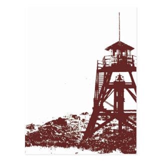 Helena MT Firetower Postcard