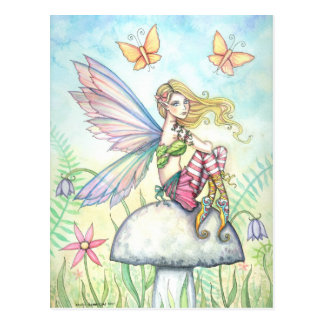 Helena's Garden Fairy and Butterfly Postcard