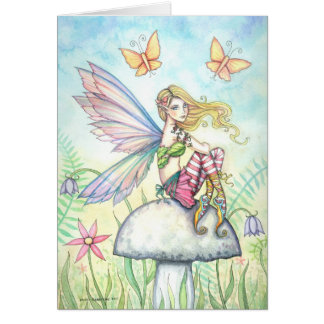 Helena's Garden Fairy Card by Molly Harrison