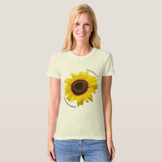 Helianthus annuus - Natural T T-Shirt