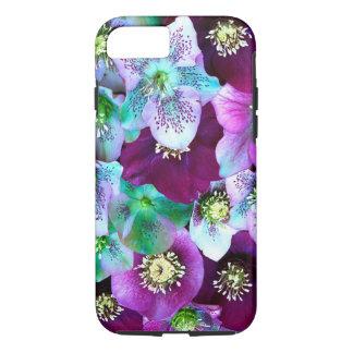 Heliborus pattern of winter blooming flower, iPhone 7 case