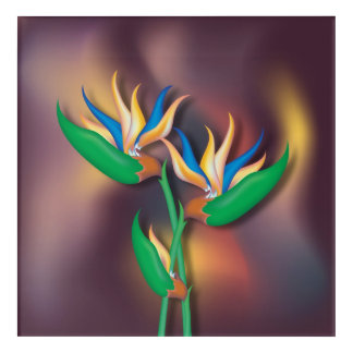 Heliconia Bouquet Acrylic Print