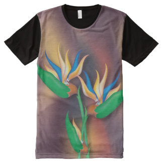 Heliconia Bouquet All-Over-Print T-Shirt