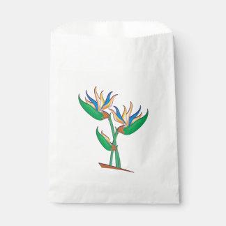 Heliconia Bouquet Favour Bag