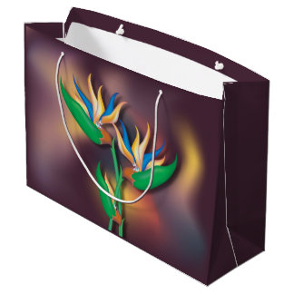 Heliconia Bouquet Large Gift Bag