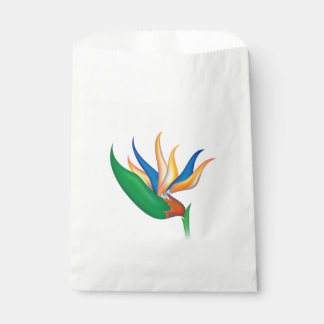 Heliconia Flower Favour Bag
