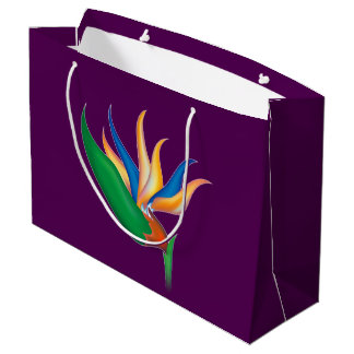 Heliconia Flower Large Gift Bag