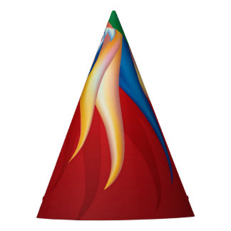 Heliconia Flower Party Hat