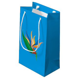 Heliconia Flower Small Gift Bag