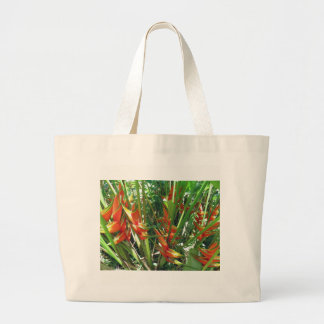 Heliconia Large Tote Bag