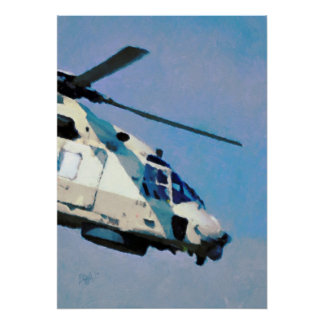 Helicopter - Chopper Print