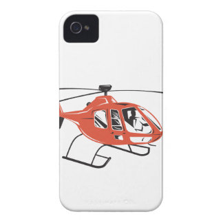 Helicopter Chopper Retro iPhone 4 Cases