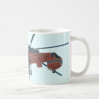 Helicopter crane coffee mug