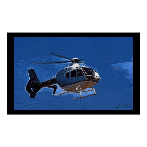 Helicopter Flyby Posters