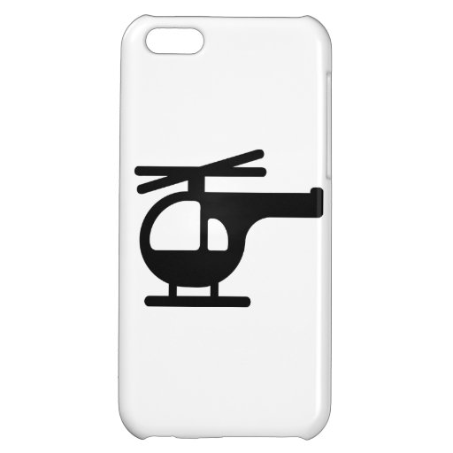 Helicopter Case For iPhone 5C