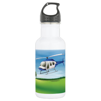 Helicopter Landing Water Bottle
