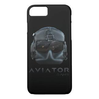 Helicopter Pilot Helmet iPhone 7 Case