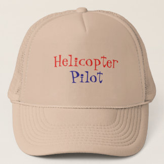 Helicopter, Pilot Trucker Hat