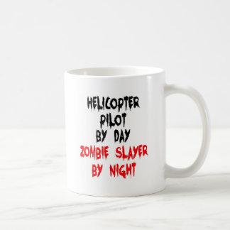 Helicopter Pilot Zombie Slayer Coffee Mug