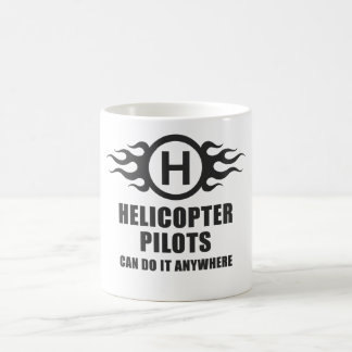 Helicopter Pilots Can Do It Anywhere Mug