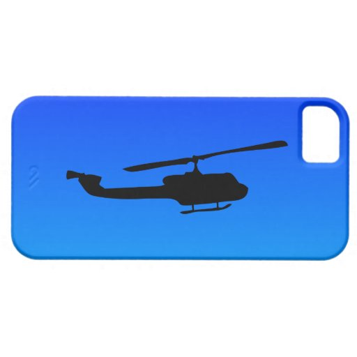 Helicopter Silhouette iPhone 5/5S Covers