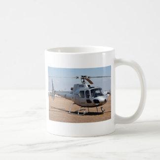 Helicopter (silver) coffee mug