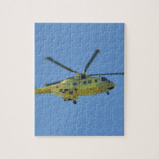 Helicopter to The Isles of Scilly Jigsaw Puzzle
