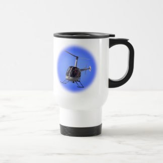 Helicopter Travel Mug Cup Chopper Coffee Mug