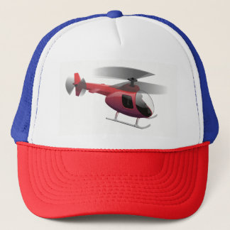 Helicopter Trucker Hat